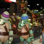 Comic-Con 2012 Cowabunga its the Ninja Turtles!