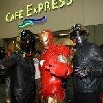 Comic-Con 2012 Daft punk and Iron Man