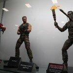 Comic-Con 2012 Arnold Schwarzenegger Predator Toys