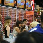 Comic-Con 2012 Glee! Lea Michele, Naya Rivera, Jenna Ushkowitz