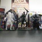 Comic-Con 2012 Freddy, Predator, Ash, Gears and Assassins Toys
