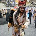 Comic-Con 2012 Captain Jack Sparrow