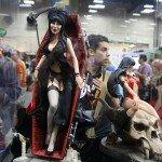Comic-Con 2012 Elvira Statue