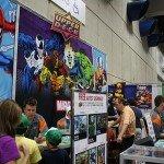 Comic-Con 2012 Upper Deck Booth