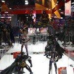 Comic-Con 2012 Batman Action figures