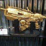 Comic-Con 2012 Gold Hammerburst from Gears Of War
