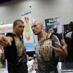 Comic-Con 2012 TNA World Tag Team Champions Christopher Daniels and Kazarian