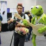 Comic-Con 2012 Kermit the frog