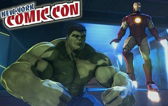 NYCC: Iron-Man and Hulk Heroes United