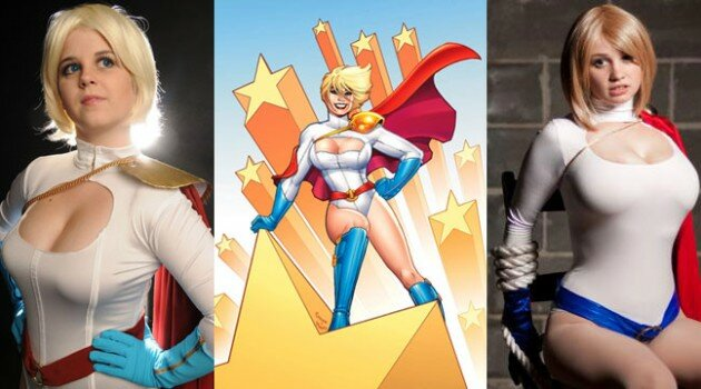 Best of Cosplay Power Girl