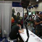 SDCC 2013 - Crazy Dredd Statue