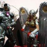 SDCC 2013 - Hawkgirl - Cyborg Cosplay