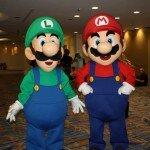 SDCC 2013 - Mario and Luigi
