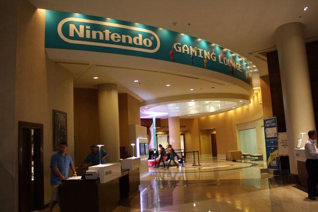San Diego Comic-Con Nintendo Gaming Lounge