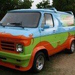 SDCC 2013 - Scooby doo van