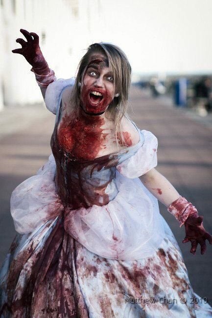 zombie-cinderella-cosplay