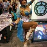 WonderCon Anaheim 2014 - Yaya Han Cosplaying as Chun-Li from Street Fighter