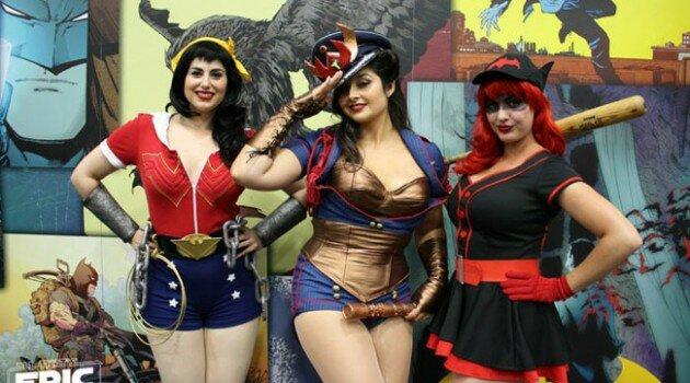 SDCC - 2014 - Friday - Cosplay - Wonder Woman - Batwoman - Lisa Lou Who - Meagan Marie - Golden Lasso Girl - MAIN