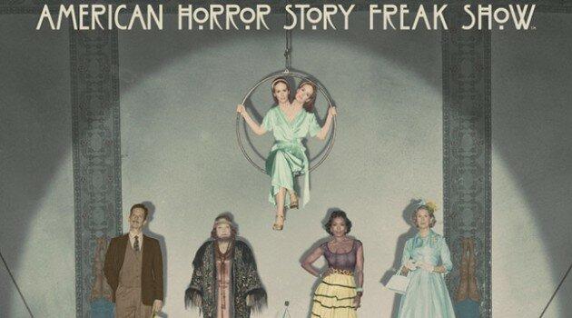 AHS Freak Show Cast Poster