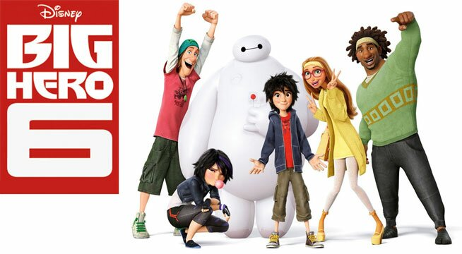 Big Hero 6 Group Poster