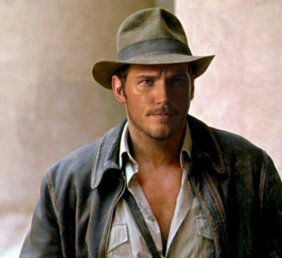 Chris Pratt as the new Indiana Jones