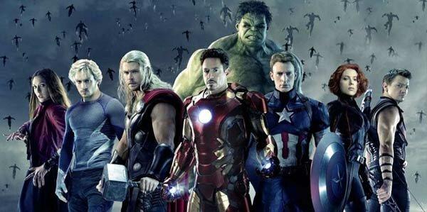 Avengers 2 team