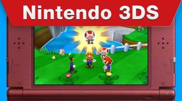 E3 2015: Mario and Luigi Paper Jam Trailer
