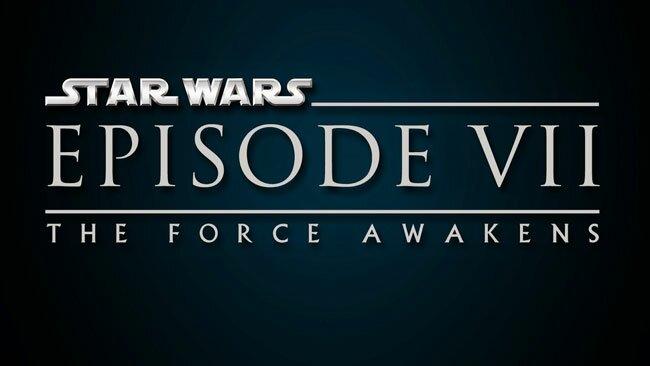 Star Wars Episode 7 The Force Awakens Logo