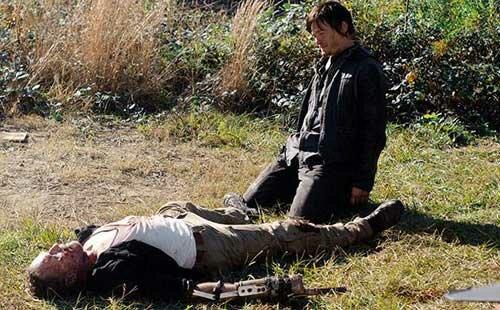 The Walking Dead Merle Dies