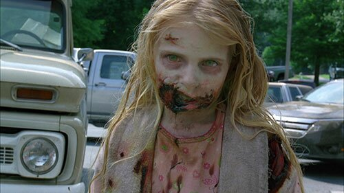 The Walking Dead Little Girl