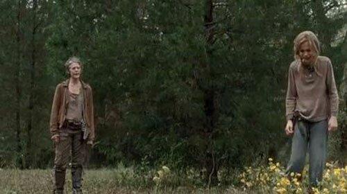 Carol Lizzie The Walking Dead