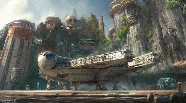 Star Wars Theme Park Concept Art
