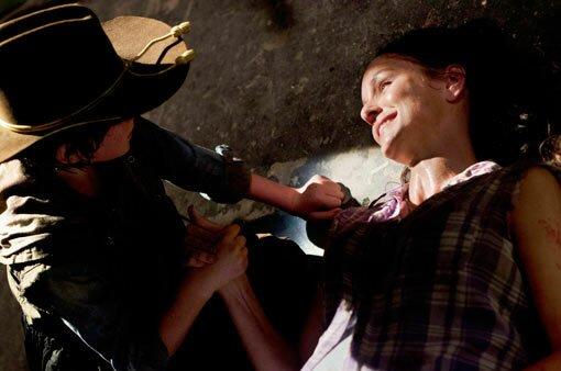 Lori dies on The Walking Dead
