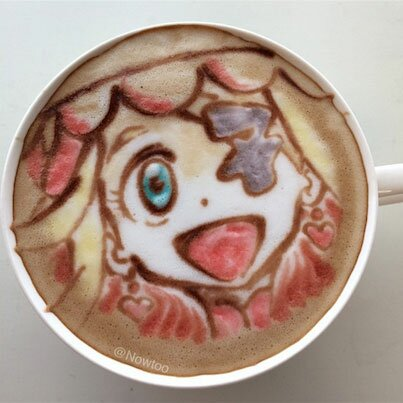Japanese Latte Art Nui