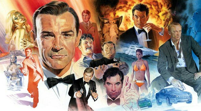 James Bond Filmed Ranked