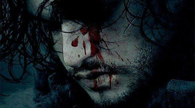 Kit Harington as Jon Snow in Game of Thrones Season 6