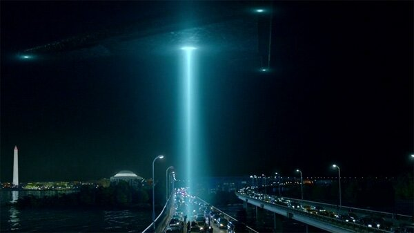 The X-Files Beam of Light