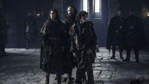 Osha and Rickon in Game of Thrones Season 6