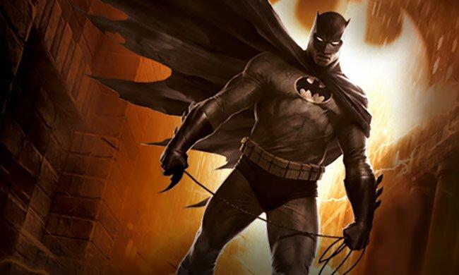 Batman The Dark Knight Rises Animated Movie