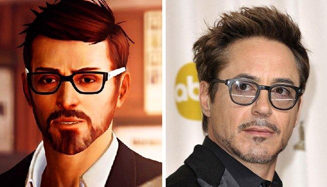 Mark Jefferson - Robert Downey Jr.