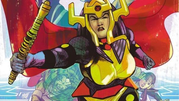 Female Furies Comic Miniseries